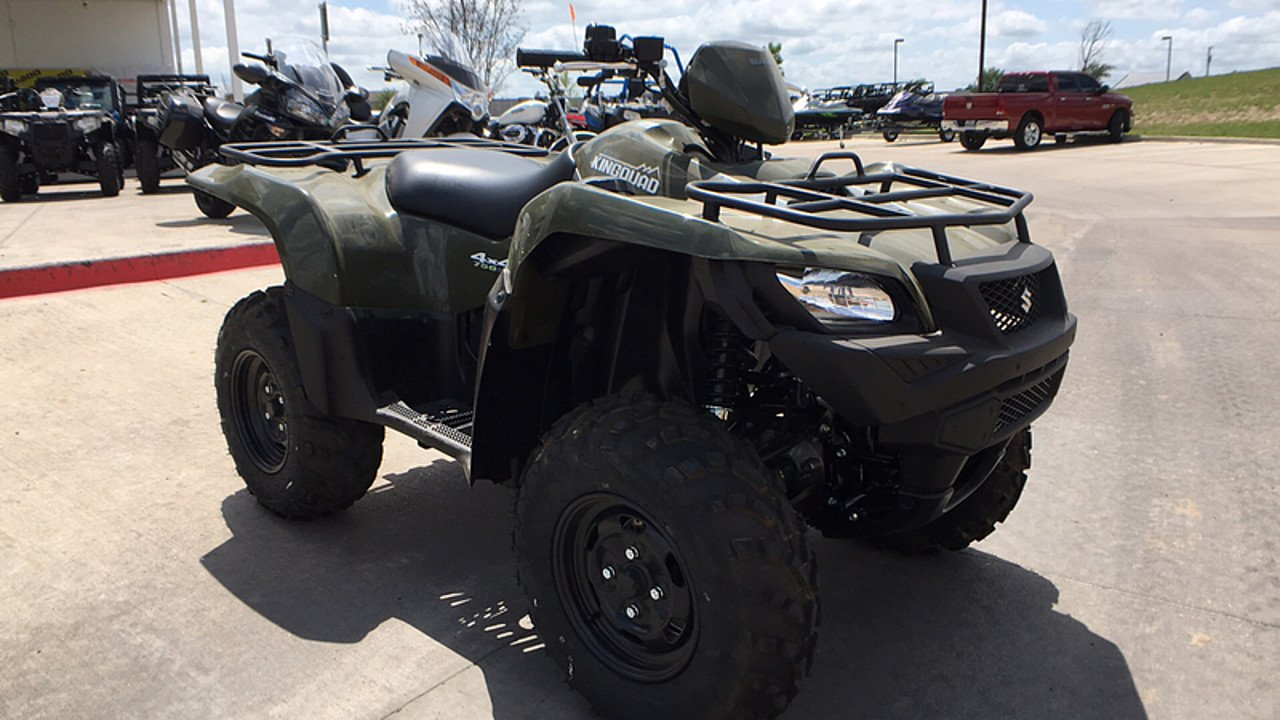 2017 Suzuki KingQuad 750 for sale 200437618